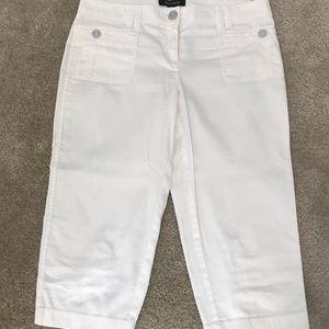 WHBM pedal pusher crop pants